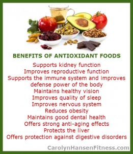 antioxidant benefits
